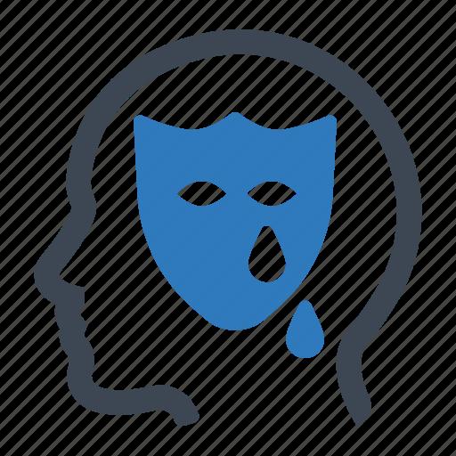 drama, emotion, face icon