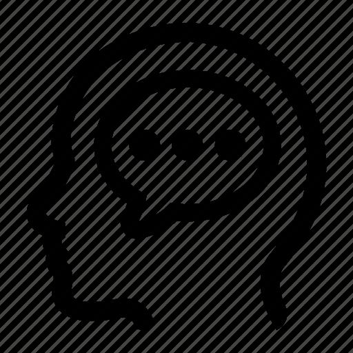 chat, comment, conversation icon