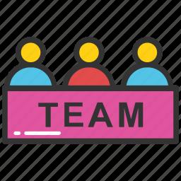 hierarchy, hr team, management, organization, team icon