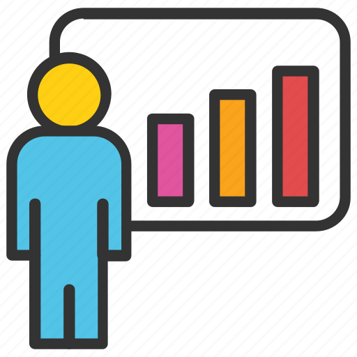 business analysis, business analyst, business graph, graphic presentation, statistics icon