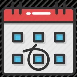 calendar, deadline, event, reminder, schedule icon