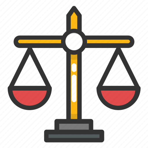 Balance Scale Justice Scale Law And Order Law Symbol Weighing