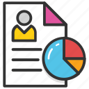 cv, cv analysis, cv review, resume, shortlisting icon