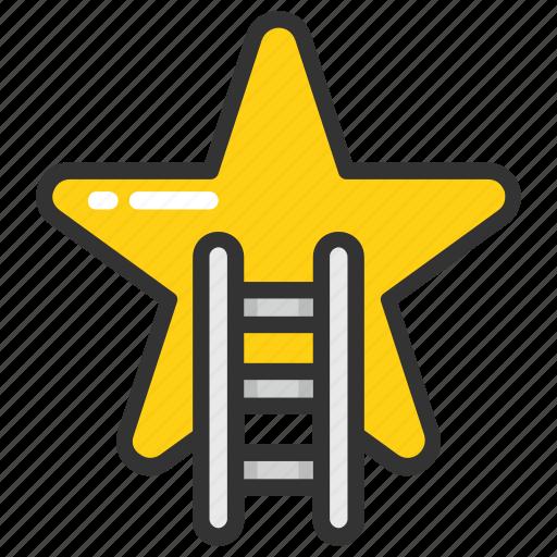 achievement, advancement, progress, promotion, success icon
