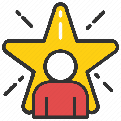 best employee, employee of the month, review, star employee, top performance icon