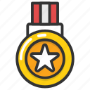 award, honor, medal, prize, reward