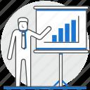 hr, human, offering, presentation, resource, teach, training icon