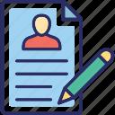cv, editing, pencil, resume, resume writing