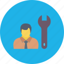 architect, builder, computer programmer, developer, occupation icon
