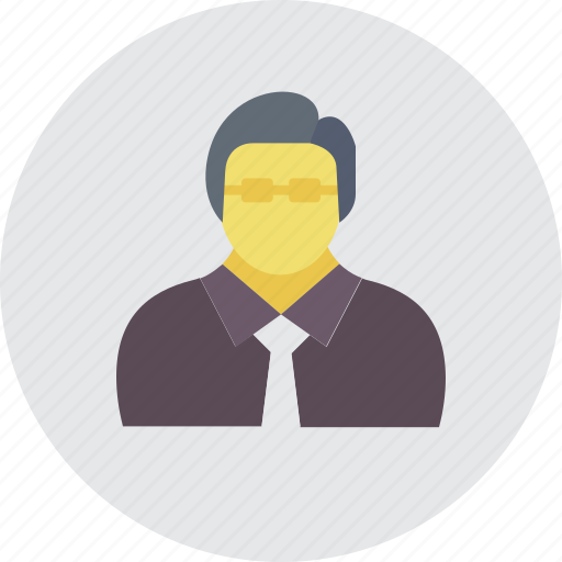 accountant, banker, businessman, businessman avatar, manager icon