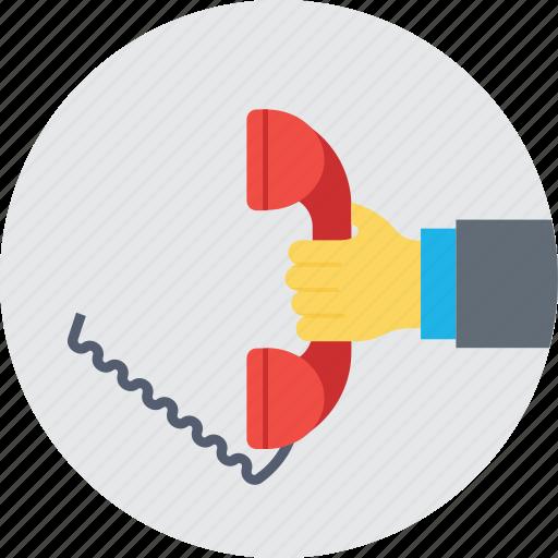 communication, helpline, phone, telecommunication, telephone icon