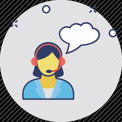 call center, customer service, customer support, helpline, representative icon