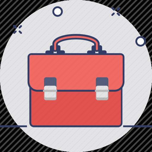 briefcase, documents bag, office bag, portfolio bag icon