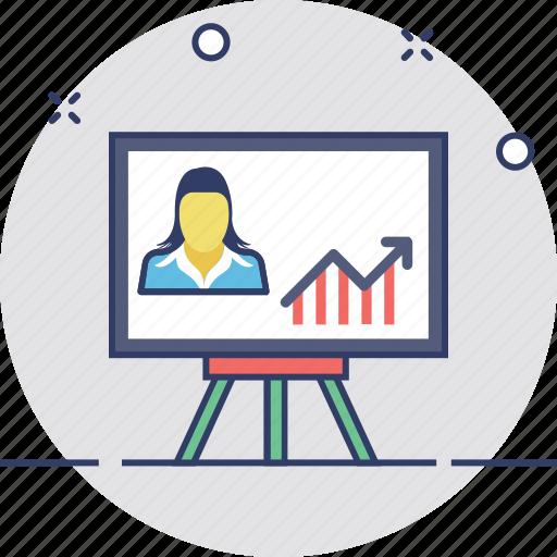 business analysis, business analyst, business graph, graphic presentation, statistics icon