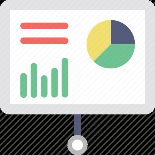 bar chart, diagram board, graph board, graph presentation, statistics icon