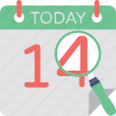 14 february, 14 february calendar, calendar, event, valentine day icon
