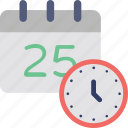 25 december, 25 december calendar, calendar, christmas date, event icon