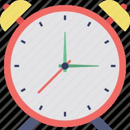 alarm, clock, schedule, timepiece, watch icon