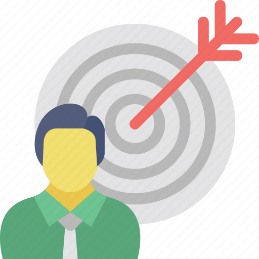 core audience, intended users, potential client, target audience, target market icon