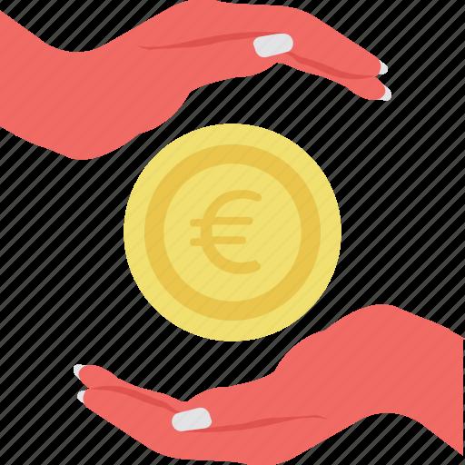 bank deposit, investment, money care, money protecting, money saving icon