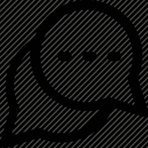 chat, chat bubble, chit chat, communication, conversation icon