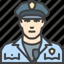 guard, policeman, security, cop, police icon