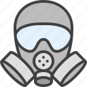 chemical weapon, gas mask, respirator, toxic