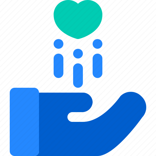 Care, hand, heart, humanity, love icon - Download on Iconfinder