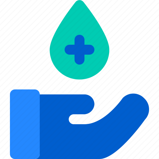 Blood, care, donation, hand, health icon - Download on Iconfinder