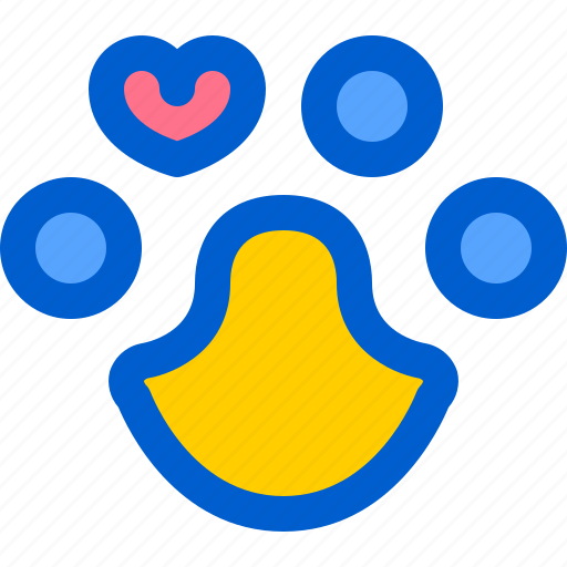 animal, care, paw, rescue, solidarity icon