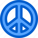 circle, love, pacifism, peace, world icon