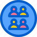 avatar, group, people, team, work icon