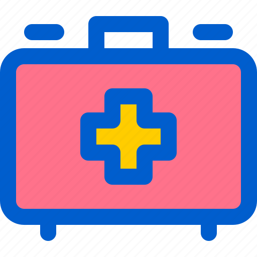 aid, box, first, hospital, kit icon