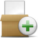 add, archive, files, to icon