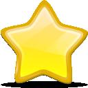bookmark, etoile, new, star