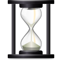 clock, hourglass, time