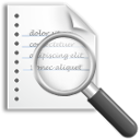 document, preview icon