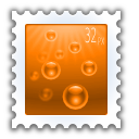 document, send, stamp icon