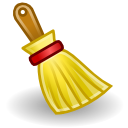broom, brush, clear, sweep