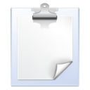 edit, notes, paste icon