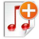 new, playlist icon