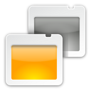 presentation, view icon