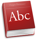 accessories, dictionary, dsad icon