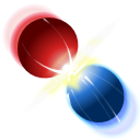 billard, collision icon