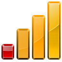 bars, chart, graph, statistics icon
