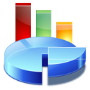analytics, chart, diagram, pie, statistics icon