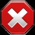 cross, dialog, error icon