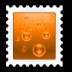 document, send, stamp icon