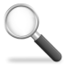 file, find, magnifying glass, search, zoom icon