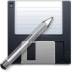 floppy, gtk icon